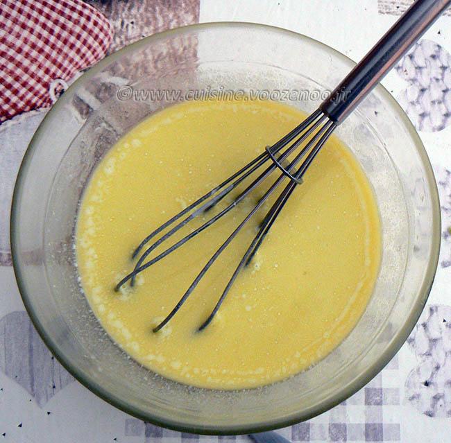 Salade de linguine, courgettes râpées et tomates cerise rôties etape4