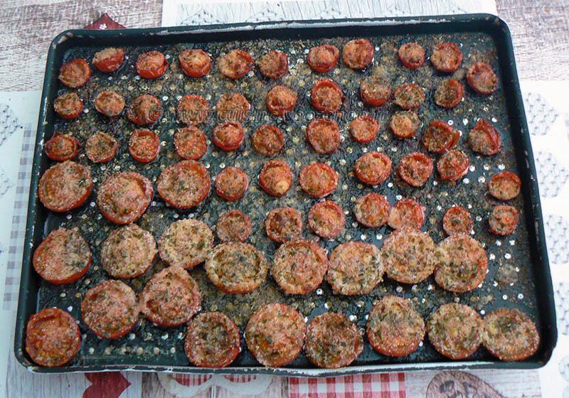 Salade de linguine, courgettes râpées et tomates cerise rôties etape5