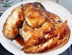 Blancs de poulet crémeux au miel et graines de moutarde etape3