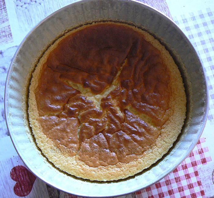 Cheesecake japonais fin