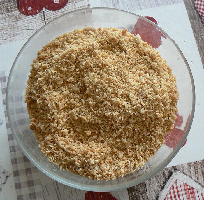 Ful sudani – Macarons aux cacahuètes etape3