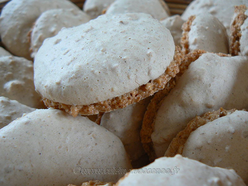 Ful sudani – Macarons aux cacahuètes fin3