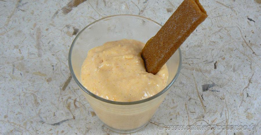 Mousse aux abricots vanillés slider