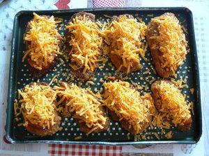 Poulet parmigiana ou Chicken parma etape5