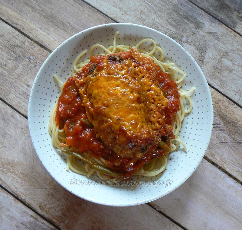 Poulet parmigiana ou Chicken parma fin2