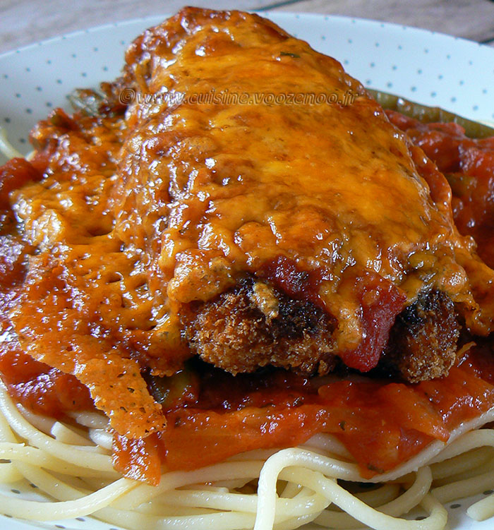 Poulet parmigiana ou Chicken parma fin3