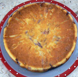 Gâteau aux pommes, myrtille et vanille fin2