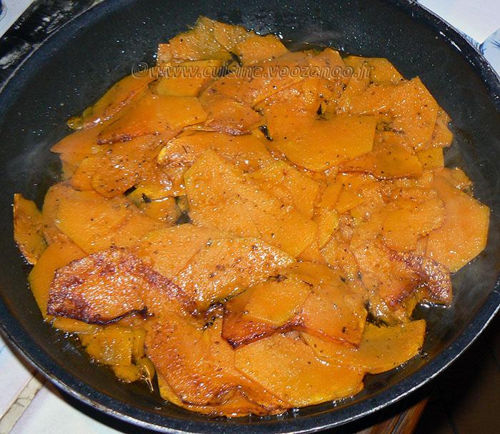 Pâtes à la Butternut caramélisée etape2