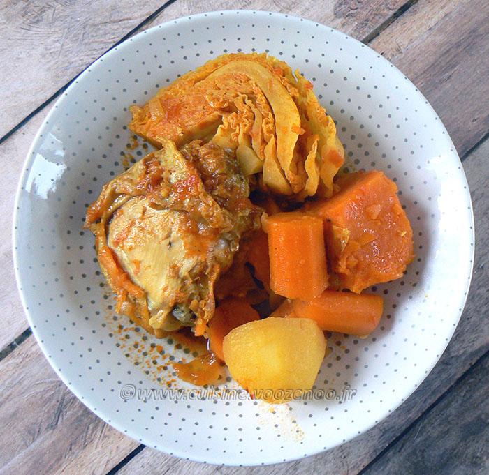 Soupou Tehou ou le ragoût guinéen fin