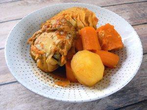 Soupou Tehou ou le ragoût guinéen presentation
