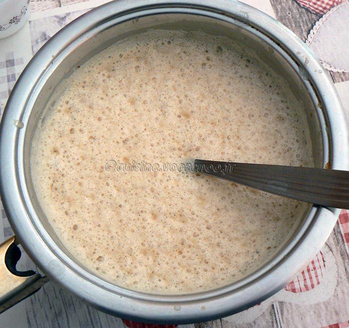 Crème brûlée à la réglisse et café etape3