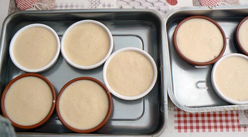 Crème brûlée à la réglisse et café etape6