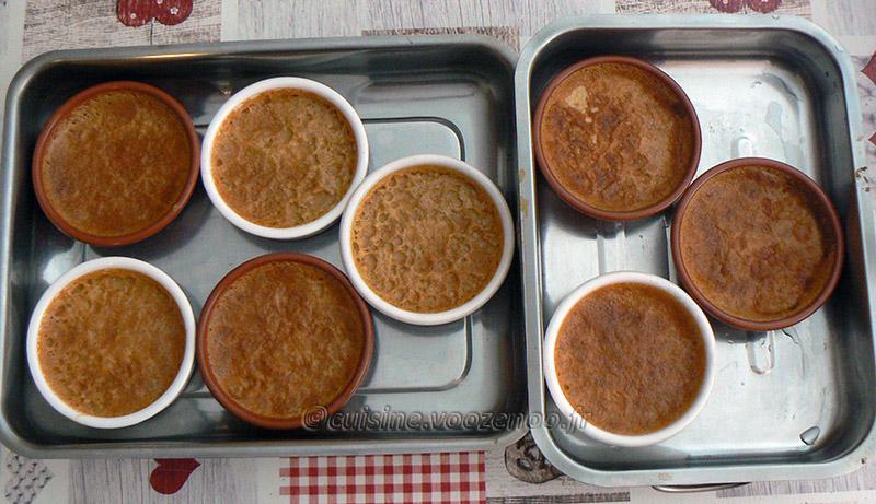 Crème brûlée à la réglisse et café fin