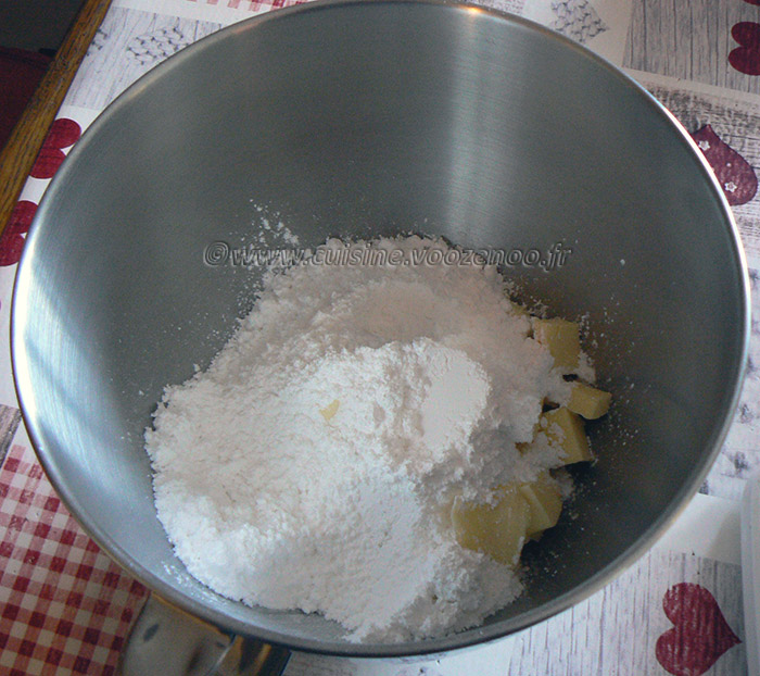 Biscuits façon Kango etape1
