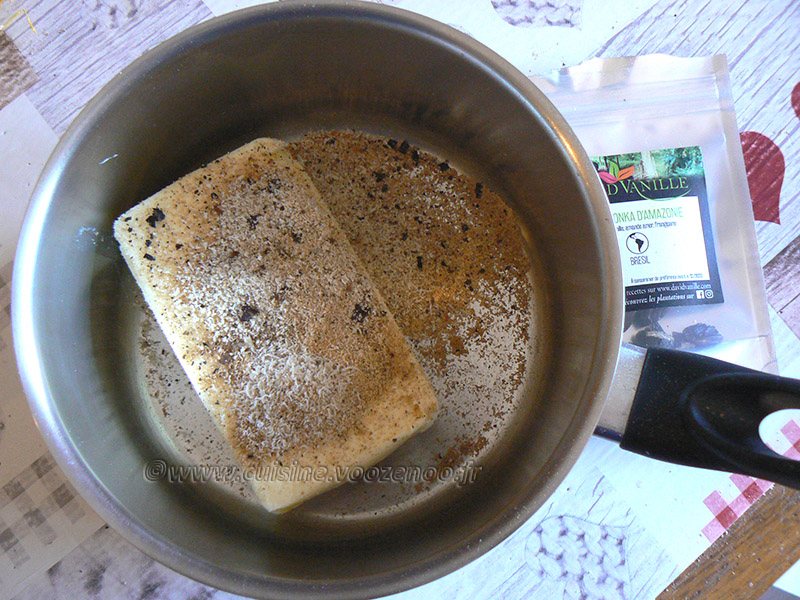 Millassou au beurre de tonka etape1