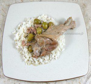 Manchons de canard aux olives vertes et lardons fin2