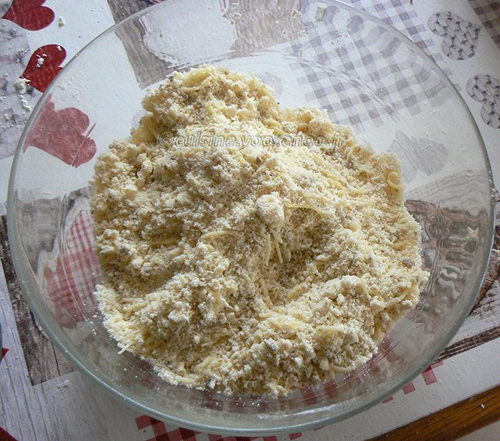 Gressins cresson, comté et graines etape2