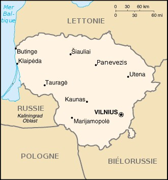 capitale lituanie
