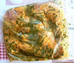 Tajine de poulet au citron confit etape2