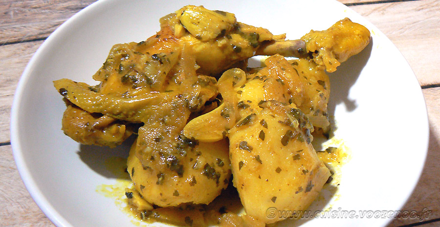 Tajine de poulet au citron confit slider