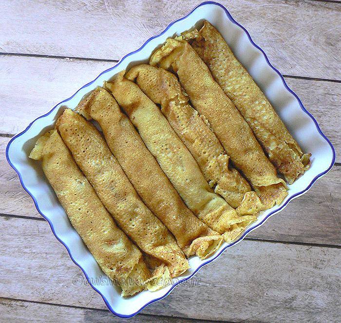 Wellawahum – Pancake farci à la noix de coco presentation