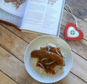 Ragout de saucisses du Sud - Louisiane presentation