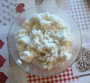 Mangue et riz collant sauce noix de coco etape2