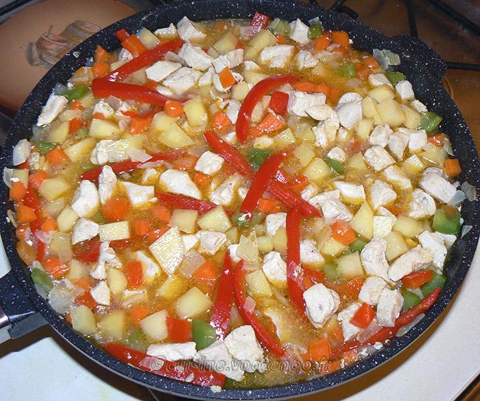 Chicken roti etape5