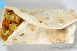 Chicken roti – Sainte Lucie
