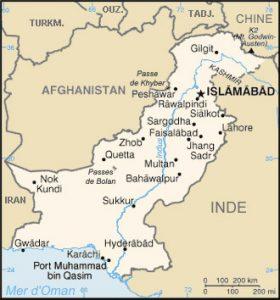 Carte Pakistan