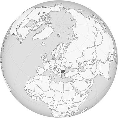 bulgarie globe