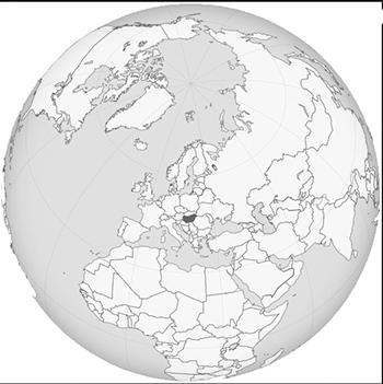 hongrie globe