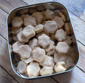 Bier Koekjes - Biscuits à la bière presentation