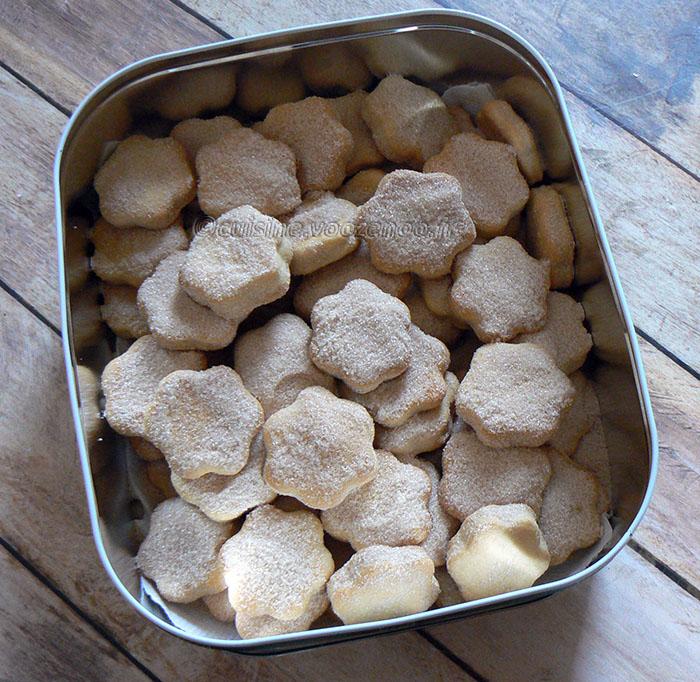 Bier Koekjes – Biscuits à la bière presentation