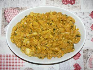Kebab reshmi de poulet et chutney de menthe etape3
