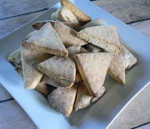 White soda scones – Irlande presentation