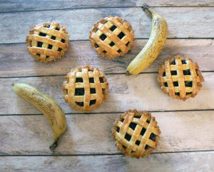 Tartelettes banane Mauricienne presentation