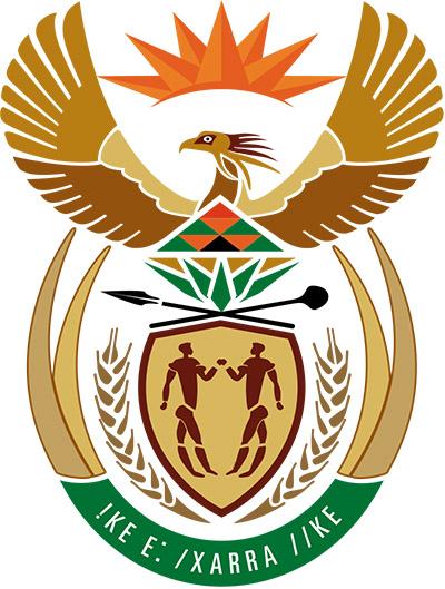 Armoirie Afrique du sud