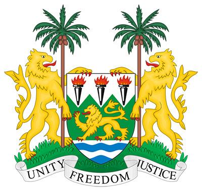 Armoirie Sierra leone
