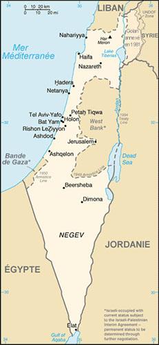 Israel carte