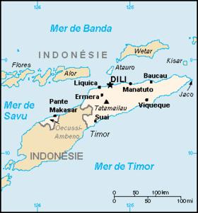 Carte Timor