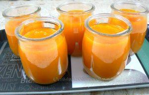 Soupe glacée de carotte primeur fin