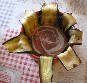 Charlotte aux aubergines, tomates et ricotta etape6