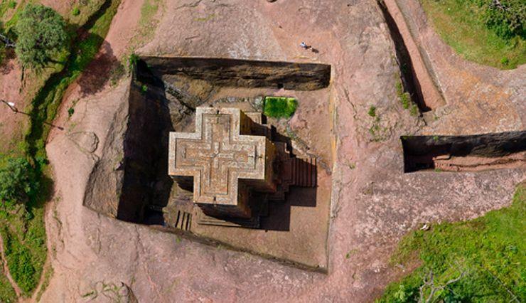 eglise st georges de Lalibela
