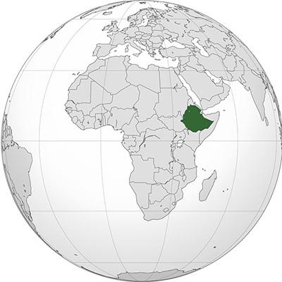globe ethiopie