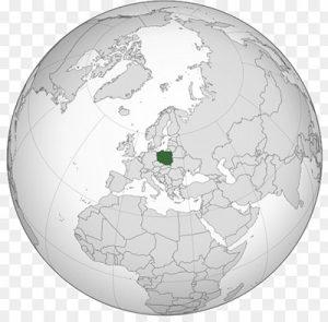 globe pologne