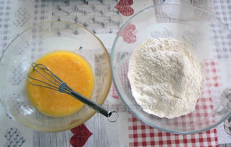 Beignets de banane au sucre de cannelle etape1
