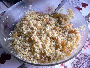 Salade de boulghour et salade de tomates Ethiopiennes fin