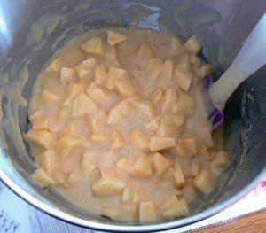 Eplekake - Gâteau aux pommes norvégien etape4