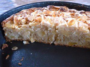 Eplekake - Gâteau aux pommes norvégien fin2